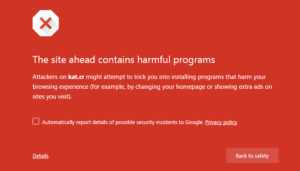 Fix the site aheads warning message